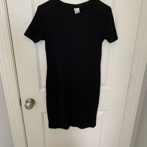 H&M Basics Black Dress